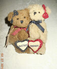 Boyds Bear  Laverne and Shirley Bestest Friends