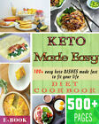Keto Made Easy More than 500 pages of best recipes Books