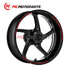 Red Wheel Rim Stickers 17