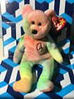 """""""Peace"""" bear-retired ty Beanie Baby new w/tags  1996"""