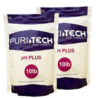 Puri Tech Chemicals pH Plus 20 lb Resealable Bag for Pools  Spas Increases pH
