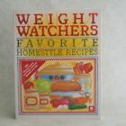 Weight Watchers Favorite Homestyle Recipes 1994 Paperback Home Style