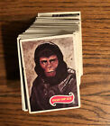 1969 TOPPS PLANET OF THE APES CARDS - 102 CARDS - NEAR FULL SET - VG CONDITION