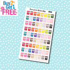 A151 Coffee with Hearts Planner Stickers for Erin CondrenHappy Planner
