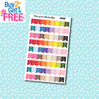A129 Bill Due Flags Planner Stickers for Erin CondrenHappy Planner Payday