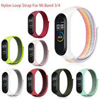 Nylon Loop Bracelet Wristband for Xiaomi Mi Band 3/Mi band 4 Smart Watch bands