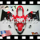 For Honda CBR600F4 Sport 1999-2000 Fairing Bodywork ABS Red Black 1o16 PA