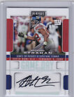 2017 MICHAEL STRAHAN AUTOGRAPH #D 09 10 PLAYOFF GAME DAY SIGNATURES GIANTS HOF