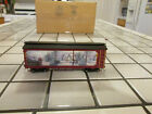 bachmann hawthorne village THOMAS KINKADES CHRISTMAS EXPRESS car On3O scale