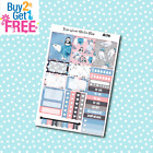 A178 Winter Animals Weekly Kit Planner Stickers for Erin CondrenHappy Planner