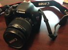Canon EOS Rebel T2i EOS 550D 180MP Digital SLR Camera Kit Lenses + Bag