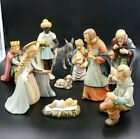 VINTAGE 11 PC 8 NATIVITY SET BY HUMMEL GOEBEL TMK4  ALL MARKED 39
