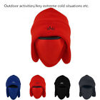 Winter Warm Fleece Thermal Motorcycle Cycling Ski Full Face Neck Mask Cap