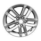 New 17 X 7 Replacement Wheel All Painted Bright Silver Metallic 74685