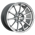 4 Maxxim 10S Winner 16x7 4x100 4x108 +40mm Silver Wheels Rims 16 Inch