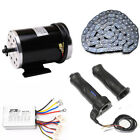 1000W 48V DC electric motor kit control box f scooter ebike gokart DIY Tricycle