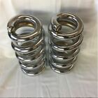Lowrider Hydraulics 5 ton coils full stack fit Chevy Impala 58 64 chrome