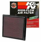 K&N 33-2457 Washable/Reusable Air Filter with High Air Flow Fits Jeep/Dodge