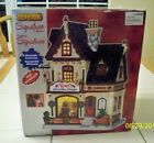 Lemax Porcelain Lighted Building Xmas Village Noel's Christmas Shoppe NEW in Box