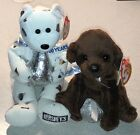 Ty Beanie Babies 2007 - Kisses & Chocolate Kiss (Both Inc) NWMT - Perfect Gifts