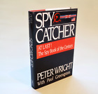 Spy Catcher Peter Wright Genuine 1st 1st superb condition