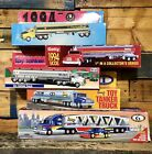 Vintage Toy Tanker Trucks Lot Of 5 Sunoco Mobil Getty Shell New Open Box