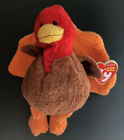Ty Beanie Babies Gobbled the Thanksgiving Turkey, 2008, Rare & Mint w/ Tag