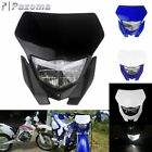 Motocross Dirt Bike Headlight Headlamp Fairing For Honda Yamaha WRF 450/426/250