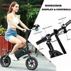 12 Folding Electric Bike Commuter City Moutain Bicycle Cycling 12 MPH 12 Miles