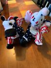 Ty Lefty And Righty Beanie Baby Set