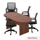 Gof 6ft Conference Table Chair G10900b Set-cherryespresso Mahogany Walnut