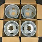 Set of 16 Dually Steel Wheels Rim For 1999 2004 Ford F350SD DRW Super Duty 3336