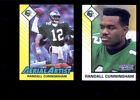 1993 Kenner SLU RANDALL CUNNINGHAM Eagles Starting Lineup Card + Aerial Artist