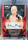 2015 Topps UFC Chronicles Trading Cards - Review Added 13
