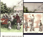 Edison Cylinder Phonograph Victorian Home Trade Card Metamorphic Boys Found Band