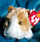 TY BEANIES: TWITCH The GUINEA PIG w/Metal key clip - MWMTS Hard to find  *2007*