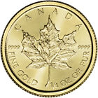 2019 Canada Gold Maple Leaf 1/4 oz $10 - BU