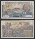 France 1950 Colonial Bank Note CINQ 5 FRANCS BOUGAINVILLE Circulated VFX1389