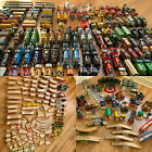 MASSIVE THOMAS WOODEN RAILWAY LOT- 250+ Trains, 31 Buildings, 270+ Tracks
