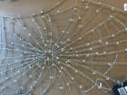 Pottery Barn Lit Crystal Spider Web NEW IN BOX Halloween