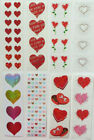 Mrs Grossman HEARTS Stickers Misc Vintage Sparkle Micro Retired You Choose