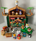 Fisher Price Little People CHRISTMAS Story NATIVITY w Shepherd Set 26 Pieces