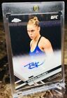 2017 Topps UFC Chrome RONDA ROUSEY (AUTO VARIATION!) (# 10 Or Less!) SSP AUTO!