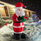 6ft Christmas Inflatable Santa Claus Air Blown Holiday Yard Decoration LED Light