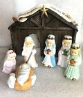 7 Pc Vintage House of Lloyd Nativity Children Creche Christmas Around the World
