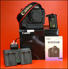 Canon EOS 1DX  Pro DSLR + Genuine Canon Battery, Twin Charger, Manual