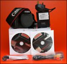 Canon EOS 550D DSLR Camera  Sold With Battery & Charger & Box
