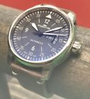 Fortis Cockpit One Pilot's 41mm Swiss Automatic Day Date 704.21.18.L.01 Black