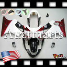 For Honda CBR600F4 Sport 1999-2000 Fairing Bodywork ABS White Red Black 1o17 PA