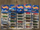 OLDER HOT WHEELS 30 DIFFERENT CARS CAMARO CORVETTE  IMPALA ALL PACKAGED 521